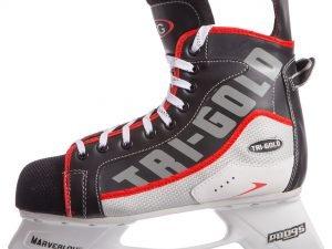 Коньки хоккейные PVC (р-р 36-46, лезвие-сталь) - 46