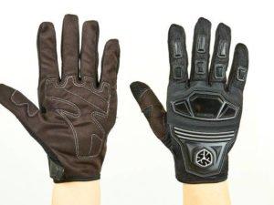 Мотоперчатки текстильные с закрытыми пальцами и протектором SCOYCO MС24-BK (р-р M-XL, черный) - Черный-M