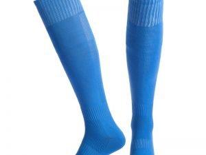 Гетры футбольные мужские (полиэстер, размер 40-45, цвета в ассортименте) - Цвет Голубой