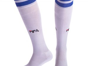 Гетры футбольные мужские FIFA (хлопок, нейлон, размер 40-45, цвета в ассортименте) - Цвет Белый