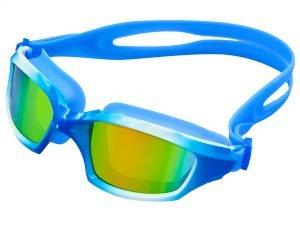 Очки-полумаска для плавания SPDO (поликарбонат, TPR, силикон, цвета в ассортименте) Replika S8600 - Цвет Голубой