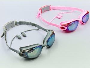 Очки для плавания SPDO (поликарбонат, TPR, силикон, цвета в ассортименте) Replika