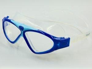 Очки-полумаска для плавания детские SPDO (поликарбонат, TPR, силикон, цвета в ассортименте) Replika - Цвет Синий