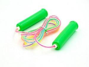 Скакалка детская с PVC жгутом (l-2,2м, d-3мм, цвета в ассоритменте)