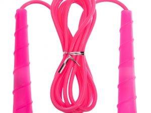 Скакалка с PVC жгутом (l-2,8м, d-5мм, цвета в ассортименте)