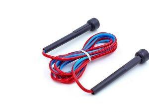 Скакалка с PVC жгутом (l-2,6м, d-5мм, цвета в ассортименте)