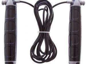 Скакалка с PVC жгутом и местом под утяжелитель Pro Supra (l-2,7м, d-5мм)