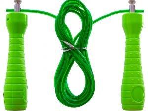 Скакалка скоростная Кроссфит co стальным тросом (l-2,7м, d-4,8мм, цвета в ассортименте)