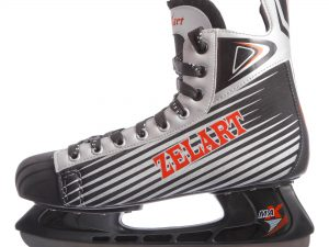 Коньки хоккейные PVC (р-р 41-45, лезвие-сталь) - 41