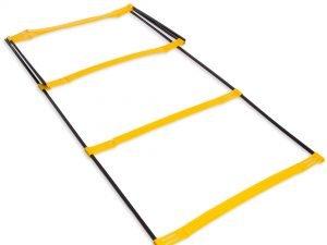 Координационная лестница дорожка с барьерами 2,15м (6 пер.) (р-р 2,15×0,5мх3,4мм)