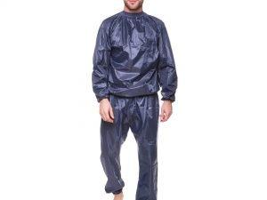 Костюм для похудения (весогонка) Sauna Suit (полиэстер, р-р XL-3XL-52-58, серый) - 2XL (52-56)