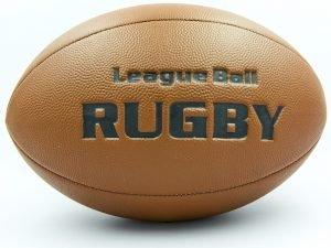 Мяч для регби RUGBY Liga ball (PU, р-р 9in, коричневый)