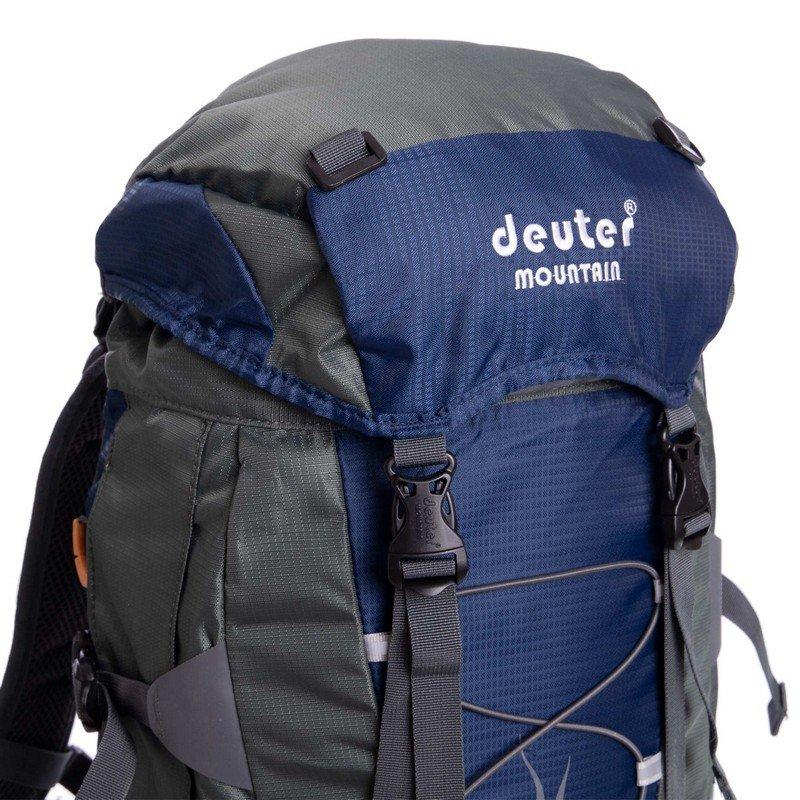 Рюкзак туристический с каркасной спинкой DTR 65 литров (полиэстер, нейлон, алюминий, размер 47x28x18см, цвета в ассортименте)