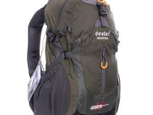 Рюкзак спортивный V-45л DEUTER (нейлон, р-р 49х29х24см, с чехлом, цвета в ассортименте) - Цвет Оливковый