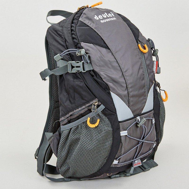 Рюкзак туристический с каркасной спинкой DTR 30 литров (полиэстер, нейлон, алюминий, размер 38x34x15см, цвета в ассортименте)