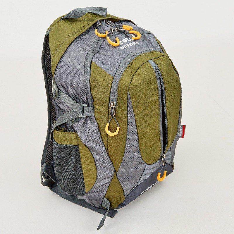 Рюкзак туристический с каркасной спинкой DTR 35 литров (полиэстер, нейлон, алюминий, размер 45x30x18см, цвета в ассортименте)