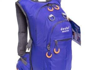 Рюкзак спортивный с жесткой спинкой DEUTER V-15л (нейлон, р-р 44х21х12см, цвета в ассортименте) - Цвет Синий