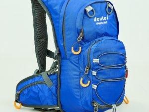 Рюкзак спортивный с жесткой спинкой DEUTER V-15л (нейлон, р-р 44х20х11см, цвета в ассортименте) - Цвет Синий