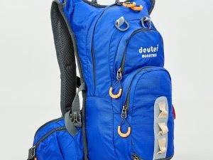 Рюкзак спортивный с жесткой спинкой DEUTER V-15л (нейлон, р-р 43х20х15см, цвета в ассортименте) - Цвет Синий