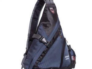 Рюкзак однолямочный DEUTER (нейлон, размер 48х34х13см, цвета в ассортименте) - Цвет Темно-синий
