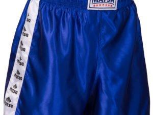 Шорты для самбо синие (полиэстер, р-р (140-190см)) - 1 (рост 140)