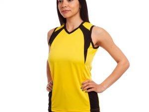 Форма волейбольная женская UR (нейлон, эластан, р-р RUS-42-48, цвета в ассортименте) - Желтый-42