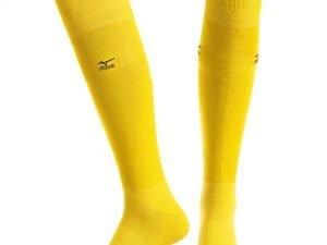 Гетры футбольные мужские MIZUNO (хлопок, PL, р-р 40-45, цвета в ассортименте) - Цвет Желтый