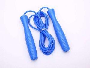 Скакалка скоростная с подшипником и PVC жгутом (l-2,8м, d-5мм, цвета в ассортименте) - Цвет Синий