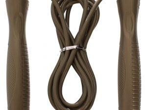 Скакалка скоростная с подшипником и PVC жгутом (l-2,8м, d-5мм, цвета в ассортименте) - Цвет Бронза