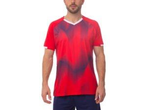 Футбольная форма (PL, р-р M-3XL, рост 165-185, красный, шорты синие) - M, рост 165