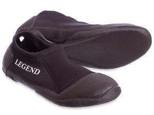 Ботинки для дайвинга LEGEND (неопрен, резина, р-р M-XXL EU-40-46, RUS-45, черный) - M (40)