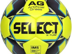 Мяч футбольный №5 SELECT X TURF IMS (FPUG 1300, желтый-серый)