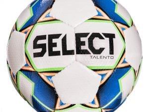 Мяч футбольный №4 SELECT TALENTO (FPUS 1400, белый-синий)