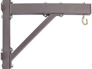 Крепление настенное с крюком для боксерского мешка (металл, р-р 52x12x47см)