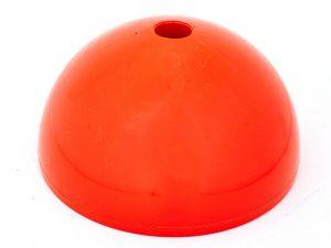 База под стойку водоналивная С-4595 (р-р d-19,3см,h-10,5см, пластик,оранжевый)