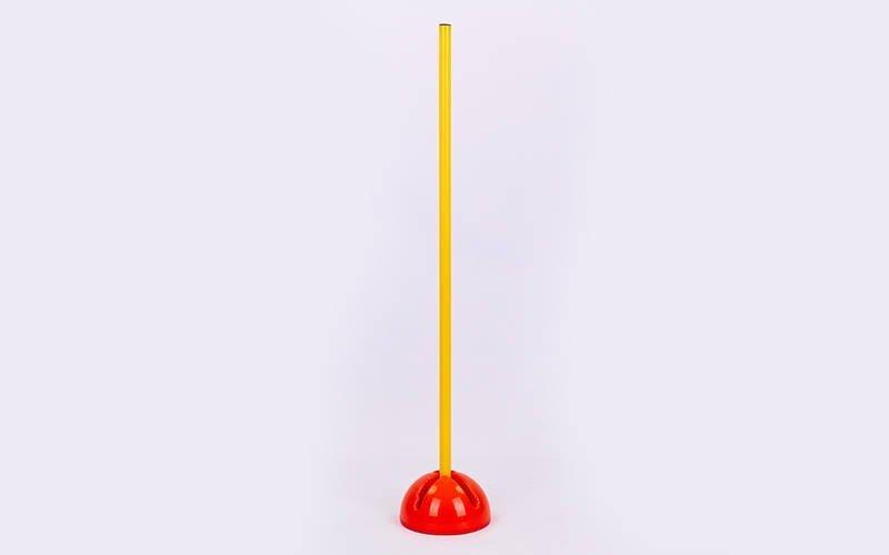 База под стойку водоналивная С-4596 (р-р d-19,3 см, h-10,5см, пластик,оранжевый)