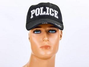 Бейсболка тактическая Police (хлопок, полиэстер, размер регулируемый)