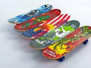 Скейтборд Mini в сборе (роликовая доска) (колесо-PVC, р-р деки 60х15х1,2см, 808Z, пласт.под)