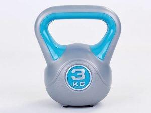 Гиря пластиковая TA-5734- 3 3кг (наполнение цемент, синий)
