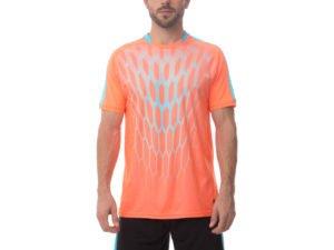 Футбольная форма (PL, р-р M-3XL, рост 165-185, оранжевый, шорты черные) - M, рост 165