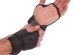 Перчатки-утяжелители 950г VALEO (неопрен, наполнитель-песок, черный)