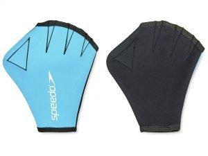 Перчатки для аквафитнеса SPEEDO (неопрен, р-р S-L, синий) - L