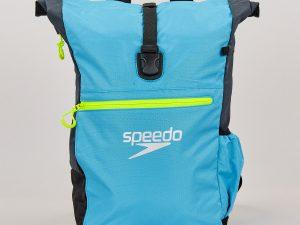 Рюкзак спортивный SPEEDO TEAM RUCKSACK III (полиэстер, р-р 50х17х34см, голубой-серый)