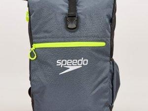 Рюкзак спортивный SPEEDO TEAM RUCKSACK III (полиэстер, р-р 50х17х34см, серый-черный)