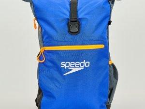 Рюкзак спортивный SPEEDO TEAM RUCKSACK III (полиэстер, р-р 50х17х34см, синий-серый)