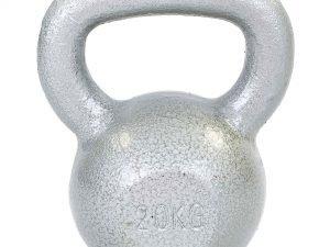 Гиря чугунная окрашенная серая ТА-DB2173-20 20кг (чугун, серый)