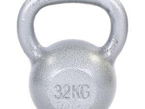 Гиря чугунная окрашенная серая ТА-DB2173-32 32кг (чугун, серый)