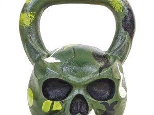 Гиря чугунная окрашенная черная Skull 20кг (чугун)