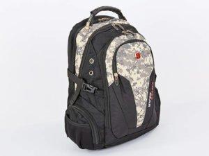 Рюкзак городской VICTOR (PL, р-р 48x20x30см, пиксель) - Цвет Пиксель серый