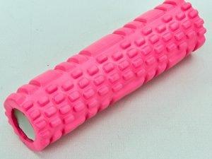 Роллер для занятий йогой и пилатесом Grid Combi Roller l-30см (d-9см, l-30см, цвета в ассортименте) - Цвет Розовый